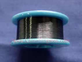straightened tungsten wire